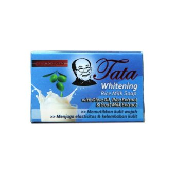 Harga Tata Whitening Rice Milk Soap