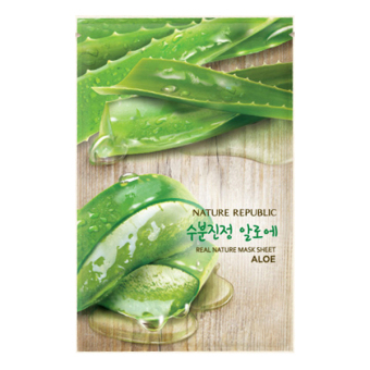 Harga Nature Republic Real Nature Mask Sheet/ Aloe23ml