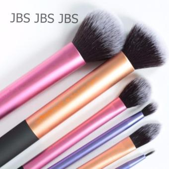 Harga JBS Kuas Real Tech Sam's Picks Makeup Brush - Kuas 6pcs