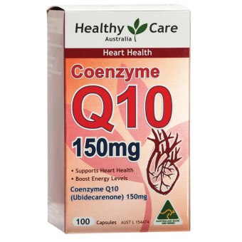 Harga Healthy Care CoEnzyme Q10 150mg - 100 Kapsul