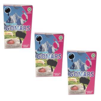 Gomars Susu Kambing Etawa Strawberry 3 Kotak