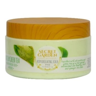 Harga Secret Garden - Body Exfoliating Scrub Greentea-250gr