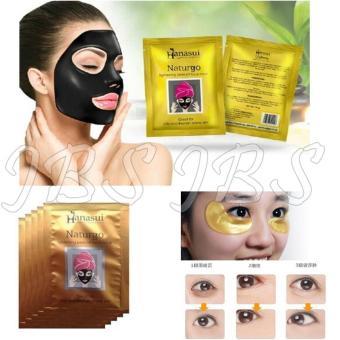 Hanasui - Naturgo BPOM - Masker Lumpur - 100% Original - 10 Sachet - Collagen