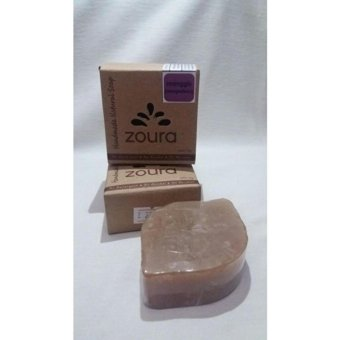 Harga Zoura Natural Soap - Varian Manggis - For Face & Body