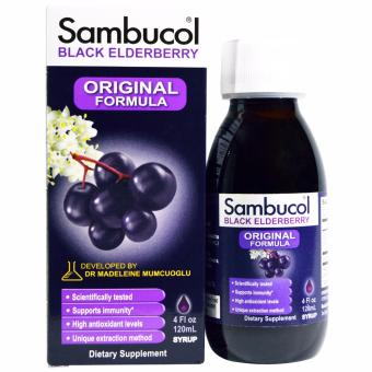 Harga Sambucol Black Elderberry Original Formula - 120ml
