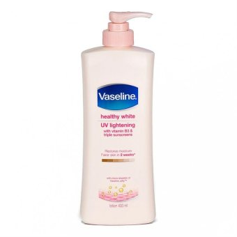 Harga Vaseline Healthy White Lotion 400ml