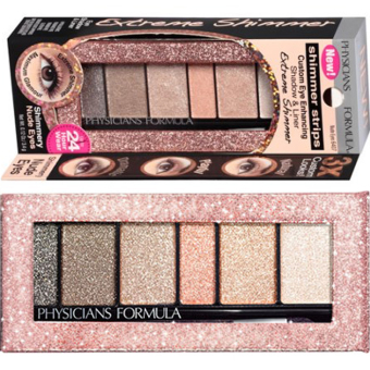 Harga Physicians Formula Shimmer Strips Custom Eye Enhancing Extreme Shimmer Shadow & Liner - Nude Eyes