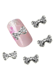 Harga Blue lans Nail Art Glitter Rhinestone Stickers Set of 12