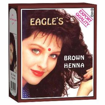 Harga Eagle Henna Hair Coloring - Brown [10 g] 1 pc
