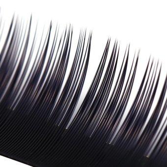Imitation Mink Individual Eyelash Extensions Professional Make Up False Lashes0 15c11mm Intl.