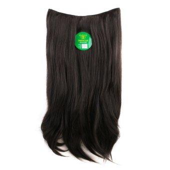 Instaclip Hairclip Straight Black 60 cm / Hair clip klip LurusKorea Hitam Big Layer Full head