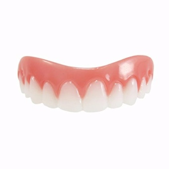 Instant Smile Comfort Flex, NEW! One Size Fits Most. Fix Your Smile At Home Within Minutes! 5 Minute Adult Makeover, Comfortable Upper Veneer For A Perfect Smile! - intl - 3