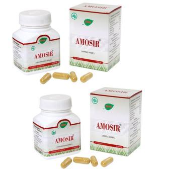 Jamu Iboe Amosir Capsules 30's Paket 2 Botol - Obat Wasir, Obat Ambeyen, Obat Ambeien