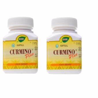 Jamu IBOE Curmino Plus 30's Paket 2 Botol - Temulawak, Suplemen Kesehatan Hati, Obat Liver, Obat Hepatitis