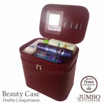 Jogja Craft Black Cream Watch Box - Kotak Jam Tangan Isi 24 - Hitam. RP