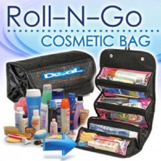 Kado Unik-- Roll N Go Cosmetic Bag