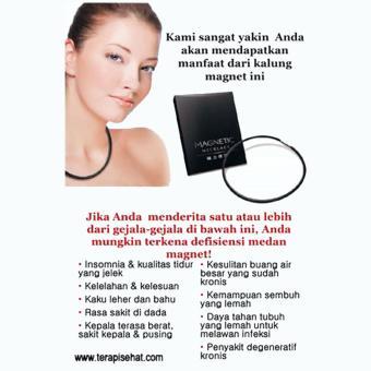 Kalung Gelang Magnet Kesehatan Prof Dr Han's- Magnetic Necklace - 2