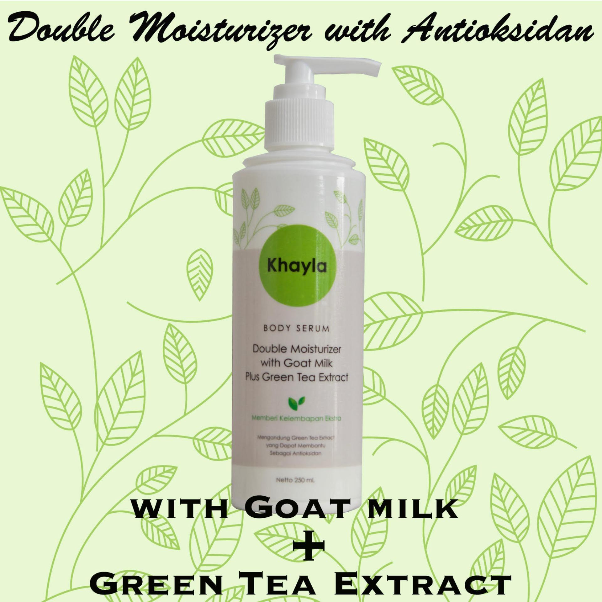 White Garden Shower Cream Goats Milk Pearl 250ml Daftar Harga Velvy Green Tea And Aloe Vera Flash Sale Khayla Double Moisturizer With Goat Plus Extract