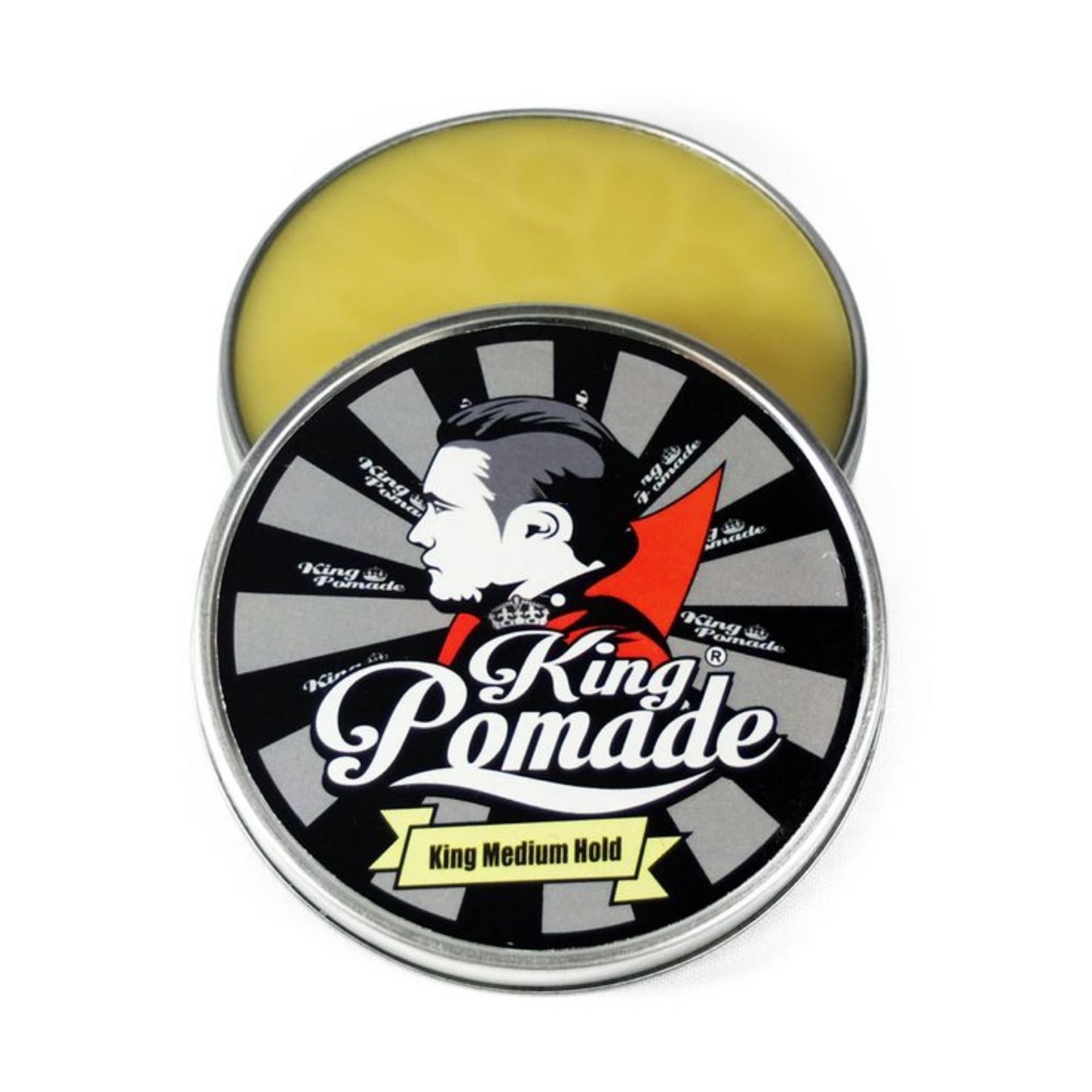 REVIEW King Pomade 4oz 113 gram Medium Hold Oilbased Terlaris