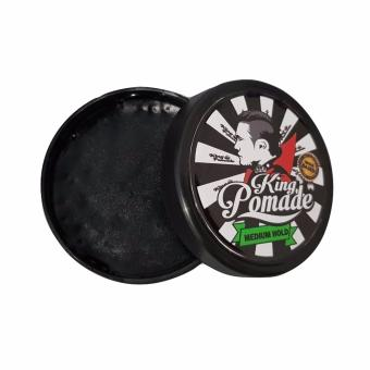 King Pomade Medium Waterbased Strong Hold 3.5oz - 100gram