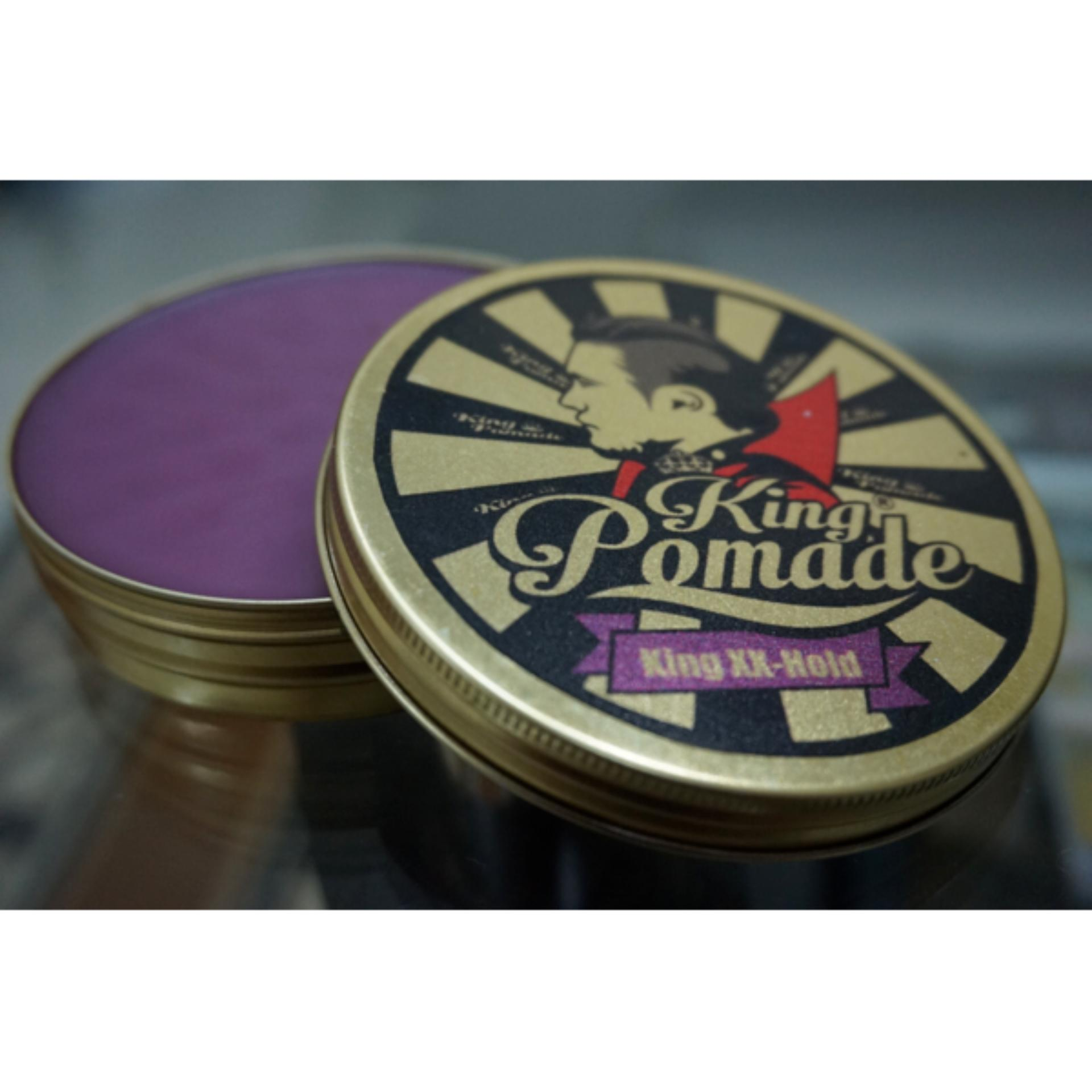 king pomade uk 1.80z xx hold anggur 4/5 shine 3/5