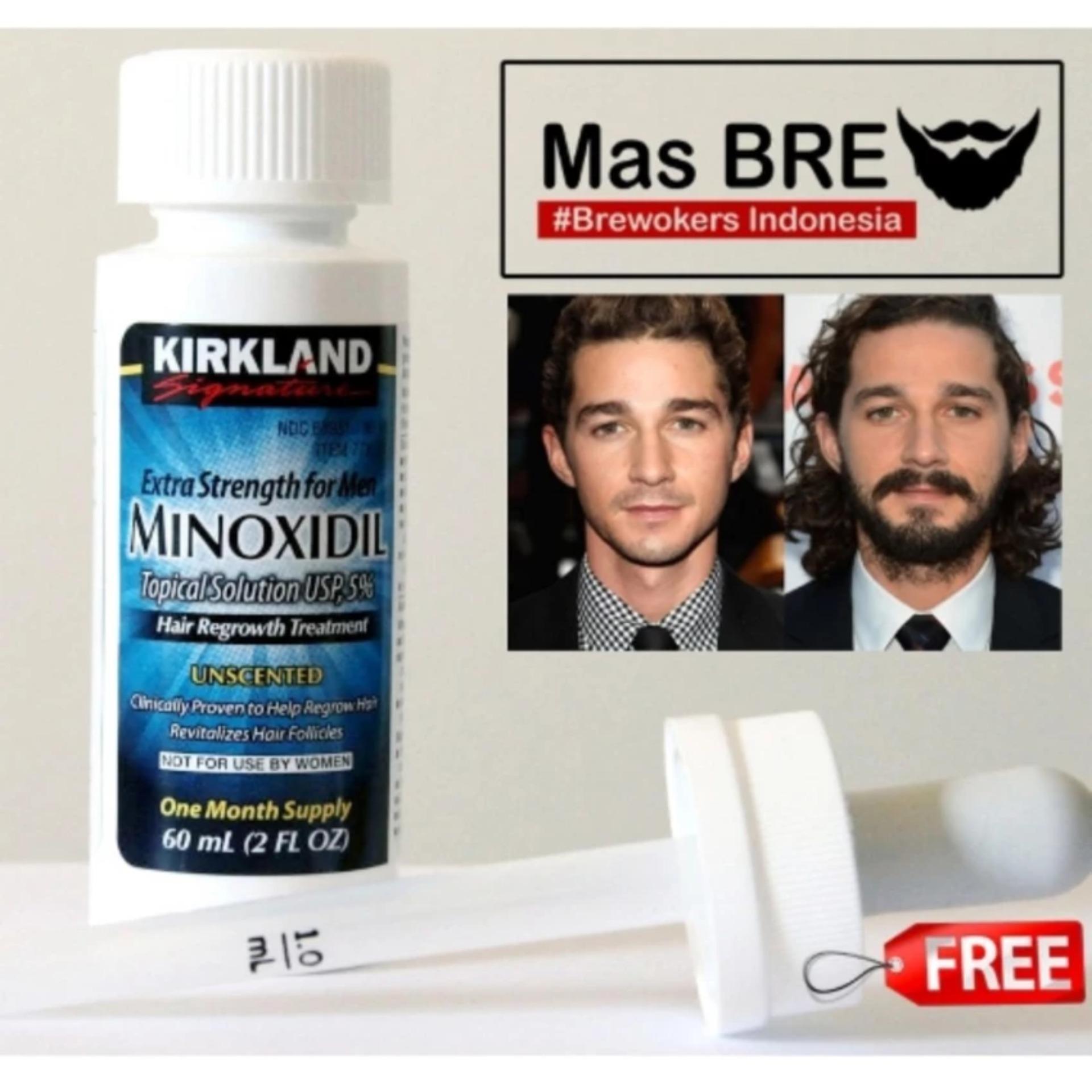 Online Murah Kirkland Minoxidil 5 Original Usa Obat Penumbuh Krim Jambang Wak Doyok 100 Kumis Bulu Halus Rambut Dll