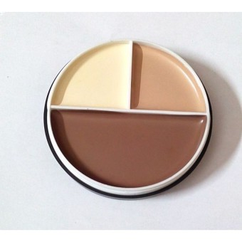 Kiss Beauty Foundation Contour 4 in 1 - 3 color