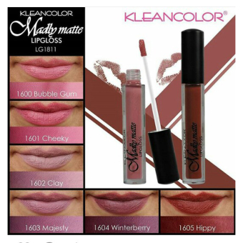 Kleancolor Madly Matte Lip Gloss-Majesty