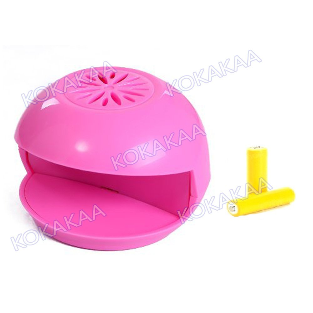 ... Kokakaa Nail Dryer Pengering Kutek Mini plus Battery Bundle - Pink ...