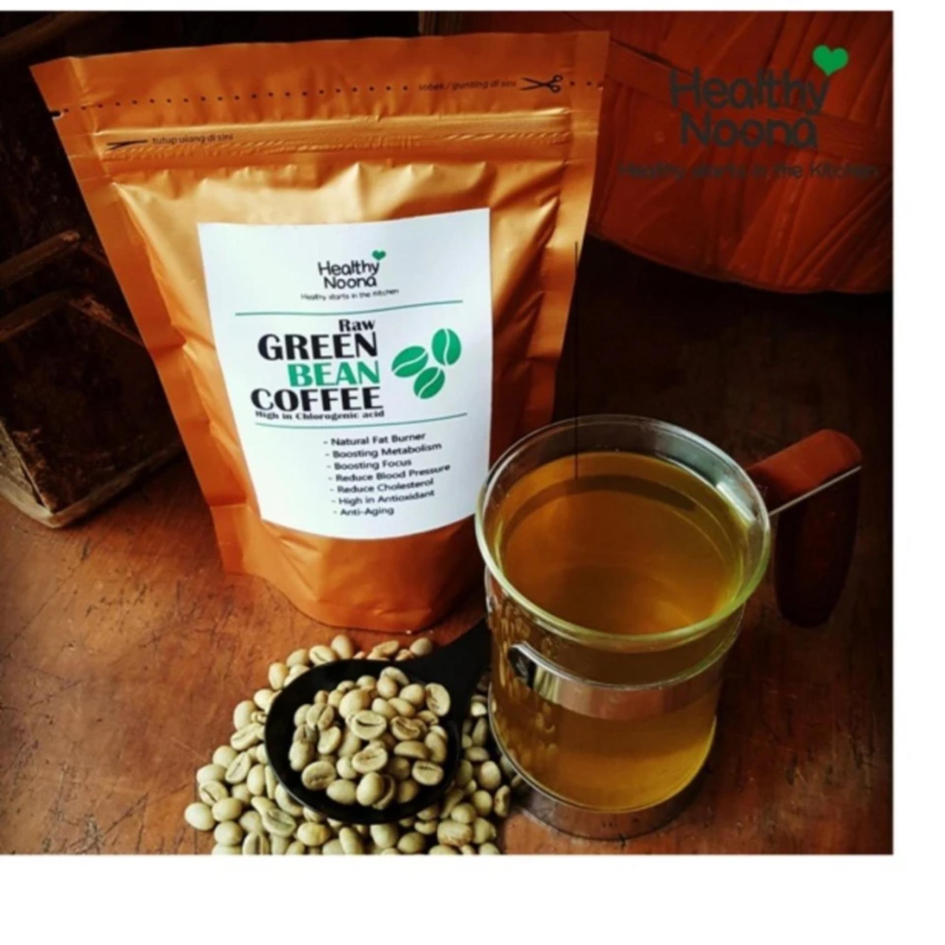 Online Murah Kopi Hijau Green Bean Coffee Natural Fat Burner 250 Gram