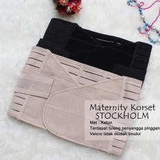 Korset Pelangsing Setelah Melahirkan / Maternity Korset Stockholm Shrink Belly - KSNUDE