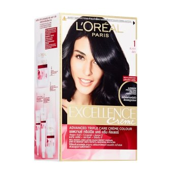 Harga L'Oreal Excellence Creme – #1 Natural Black Murah