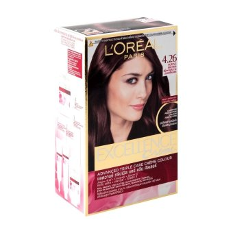 Harga L'Oreal Excellence Creme – #4.26 Purple Brown Murah