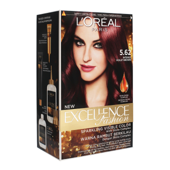 Harga L'Oreal Paris Excellence Fashion – #5.62 Violet Brown Murah