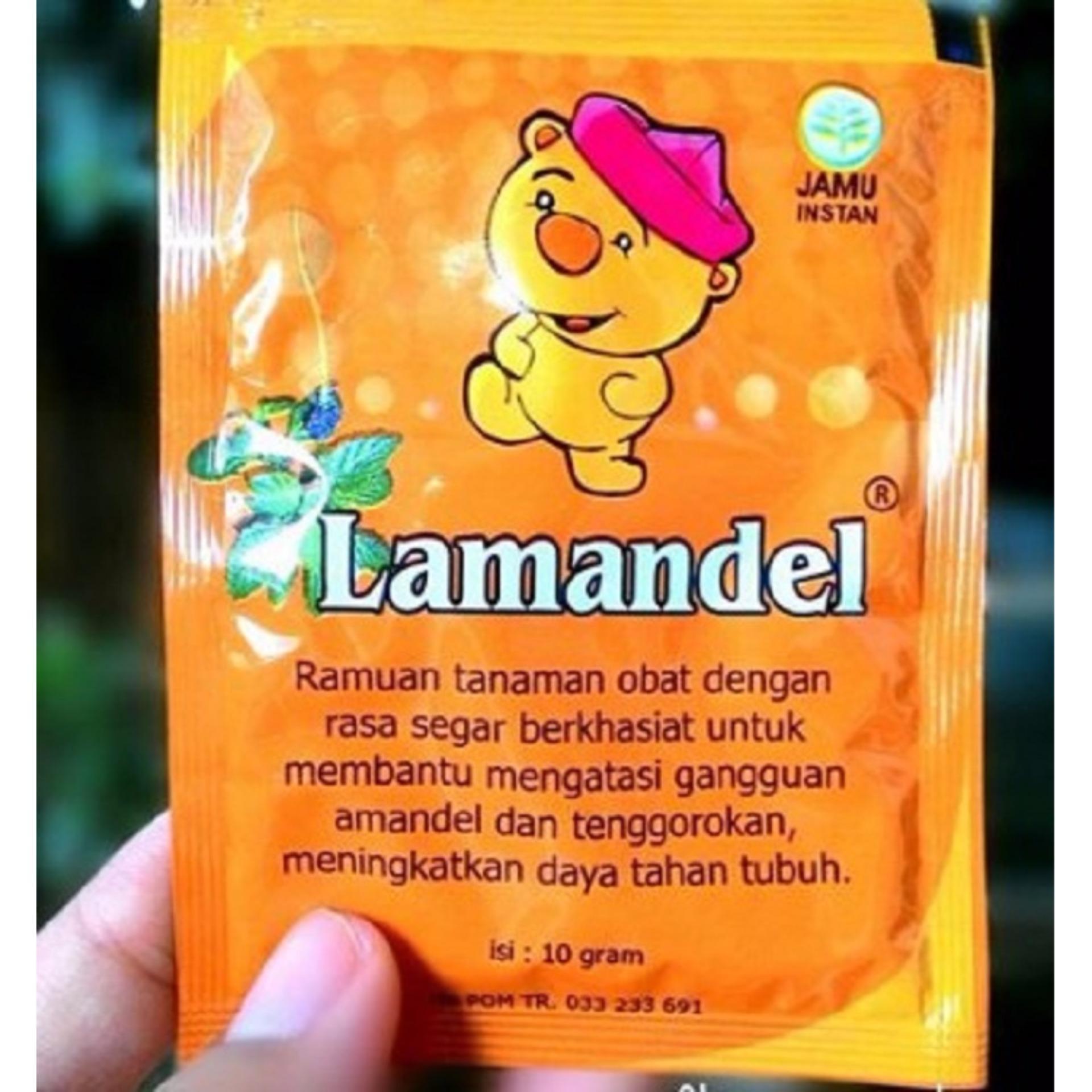 Lamandel sachet - Obat Amandel untuk anak, obat penyakitamandel,obat radang .