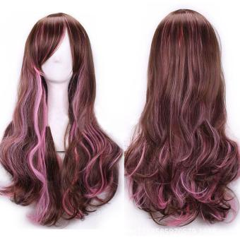 Lolita Long Wavy Curly Hair Wigs Cosplay Party Wig for Women Girls - intl