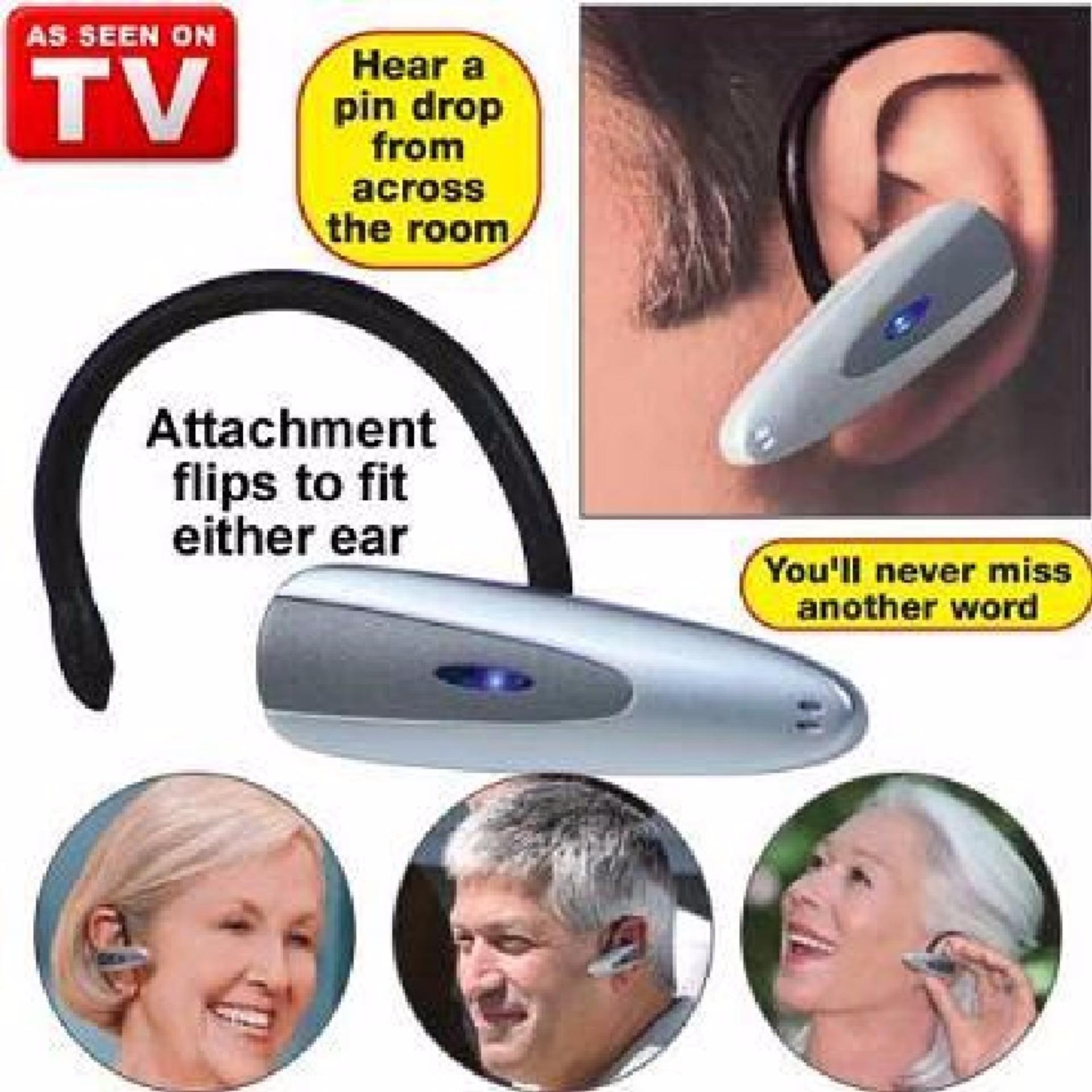 Flash Sale Loud N Clear Alat Bantu Pendengaran Telinga Wireless Suara KerasKupin