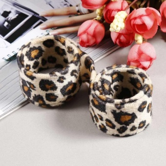 Harga Low Profit New Women Fashion Clip Hair Twist Braid Tool Accessories Curly Hair Dispenser (Brown Leopard) – intl Murah