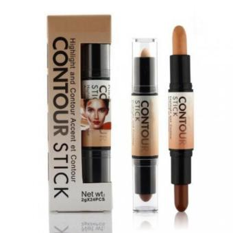 Harga Lucky Kiss Beauty Contour Stick 2in1 Concealer