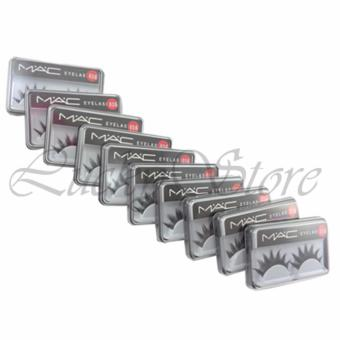 Lucky Mac Eyelashes - Bulu Mata Palsu MAC (10 Pasang)