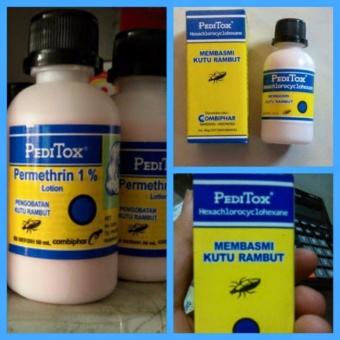 Harga Lucky PediTox Lotion / Pengobatan Kutu Rambut – 50ml Murah