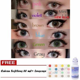 Lucky Softlens New Bluk / Soft Lens NEWBLUK Baby Eyes Made in Korea - Green +
