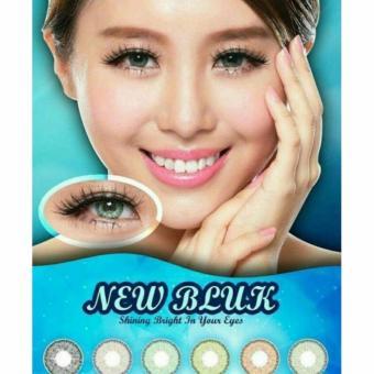 Lucky Softlens New Bluk / Soft Lens NEWBLUK Baby Eyes Made in Korea - Violet +