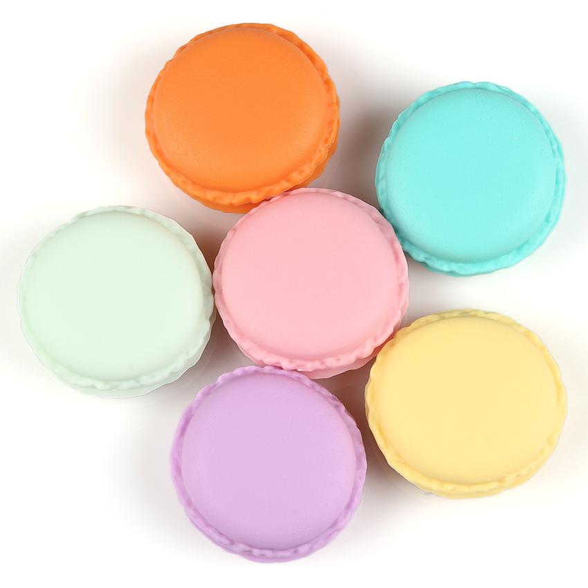 Lucky Tempat Perhiasan Bentuk Macaron - Random Colour .