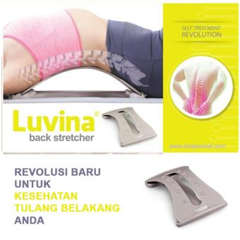 Luvina Back Stretcher - Alat Terapi Peregangan Tulang Belakang &  Saraf Kejepit