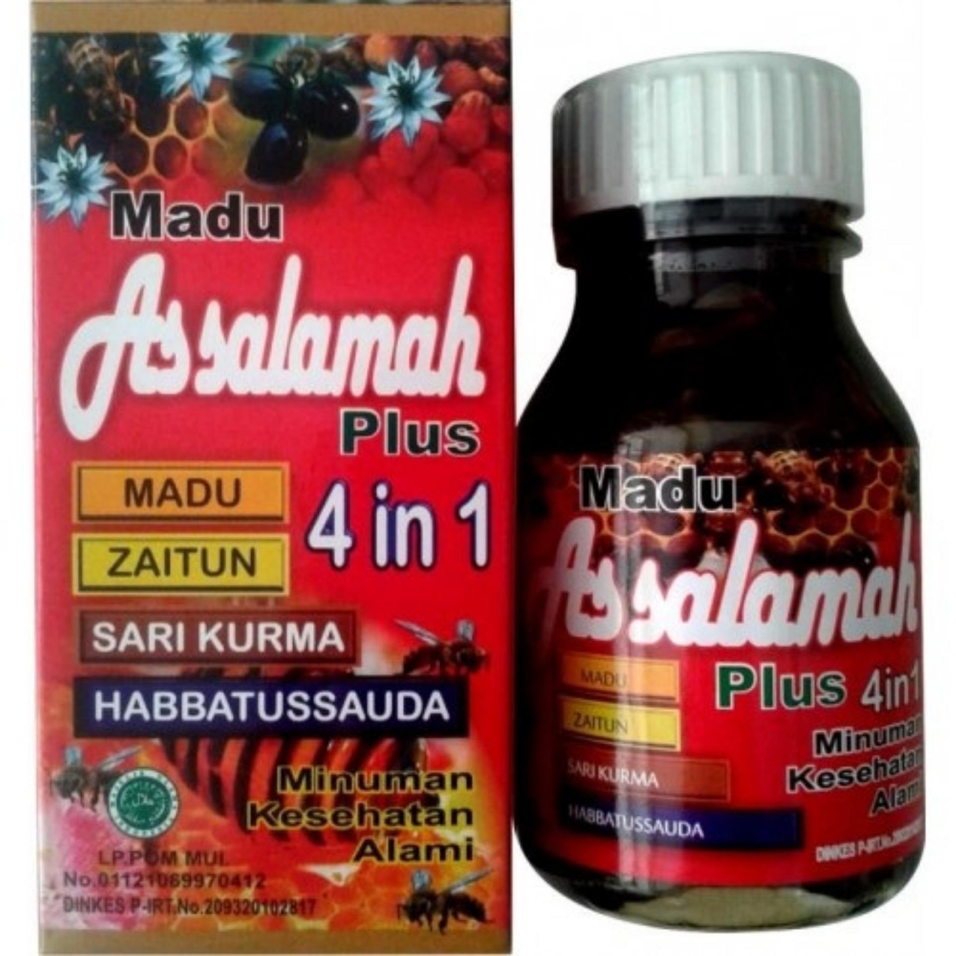 Tawon Liar Plus Propolis 7cb1553f Daftar Harga Terbaru Dan Garlic Sauda Madu As Salamah 4 In 1