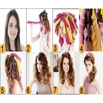 Hair Curly Alat Pengeriting Rambut Instan Dan Aman 18 Pcs 1 Stick Source · Magic Leverag