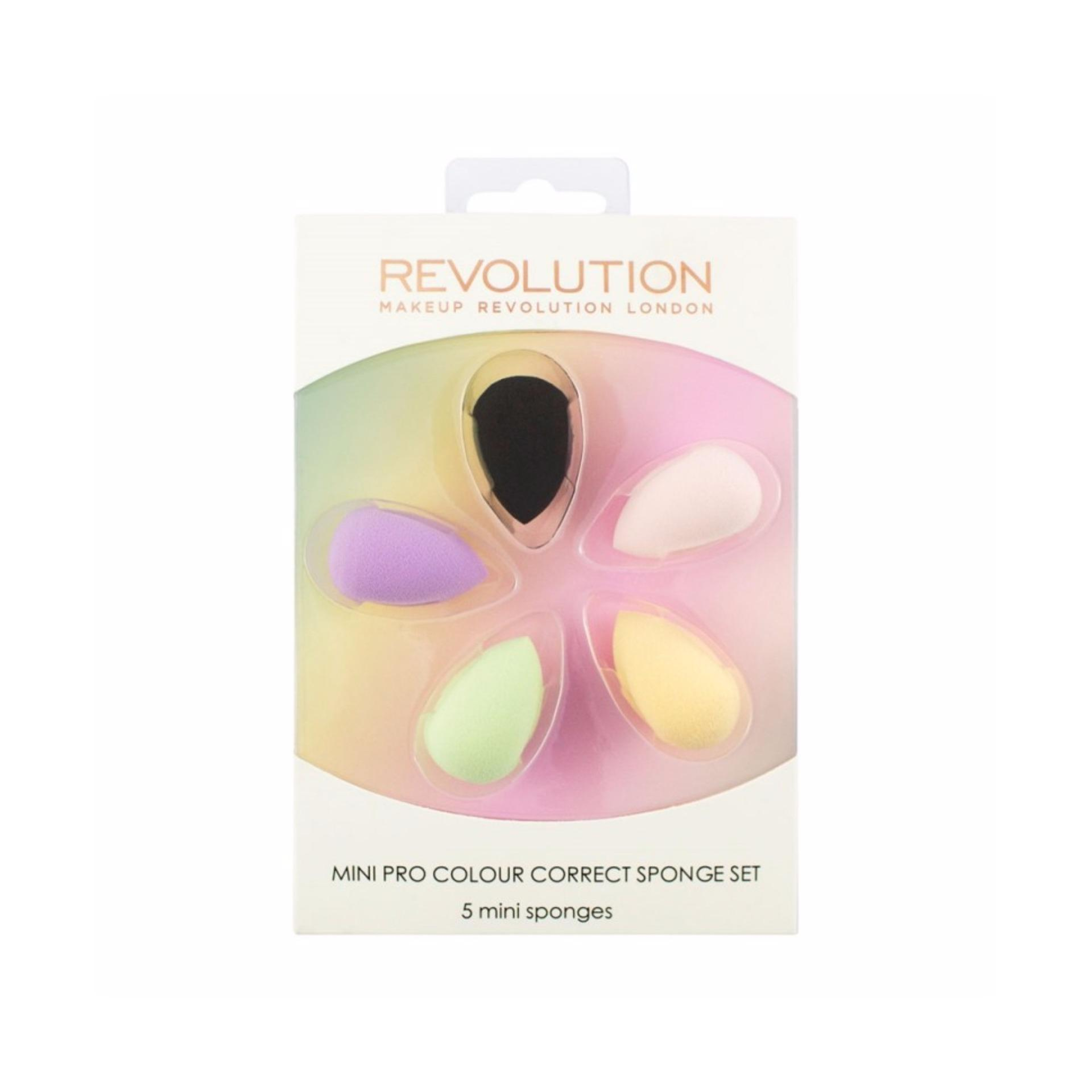 MAKEUP REVOLUTION MINI PRO COLOUR CORRECT SPONGE SET