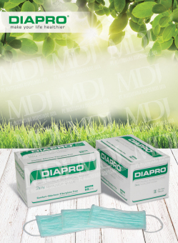 Masker Diapro Earloop 3ply (Karet)