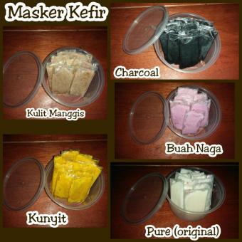 Masker Kefir Kunyit Oil Control Acne Jerawat Box Daftar Update Source · Masker Kefir Detox &